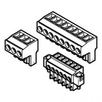 Plug connector for control systems