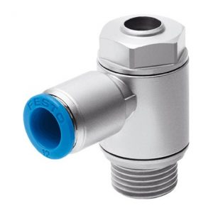 GRLA-M5-QS-6-D one-way flow control valve